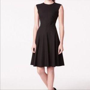 MM Lafleur Toi Fit Flare Little Black Dress 6